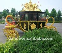 Luxury Royal horse carriage