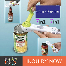 WS-F32 7-IN-1 all-powerful custom plastic can opener