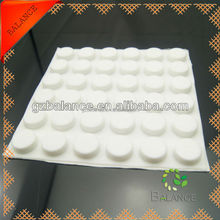 rubber chair feet/transparent silicone pad/adhesive silicone pad