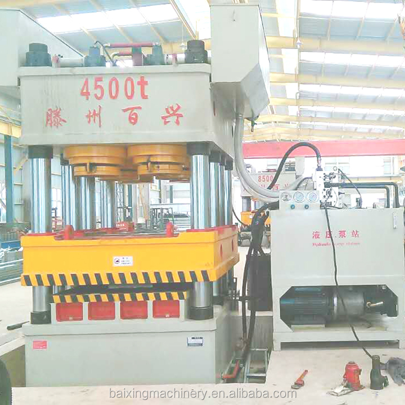 3700t deep drawing hydraulic press machine for the pinch plate