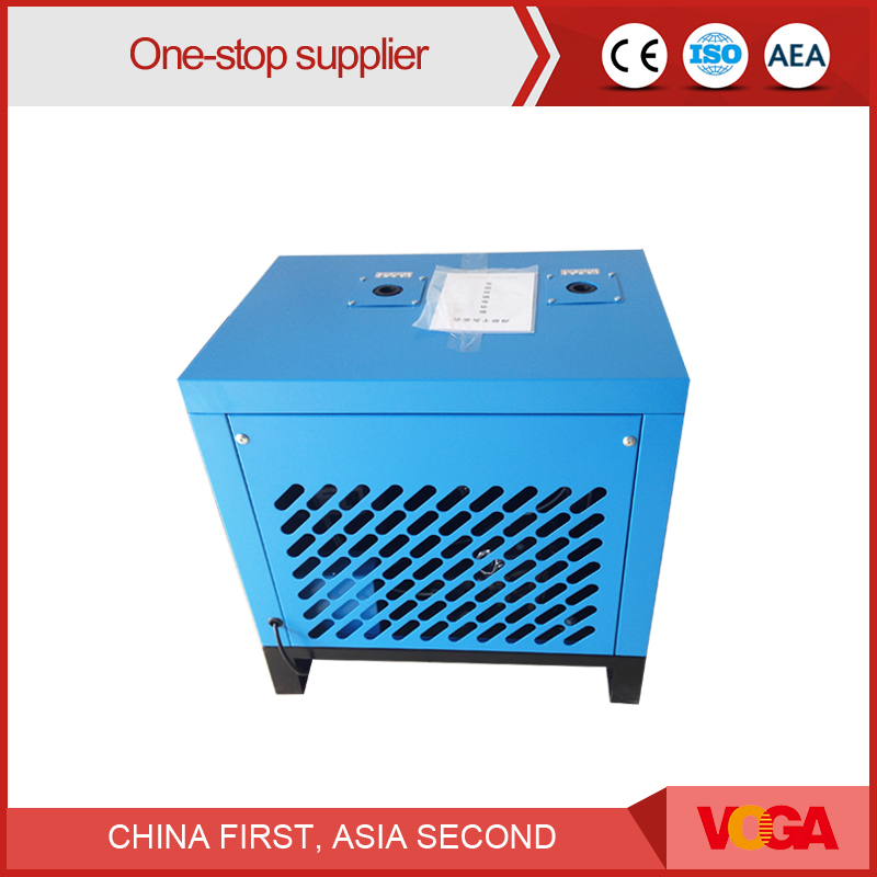 Air freezing type refrigerated air compressor dryer