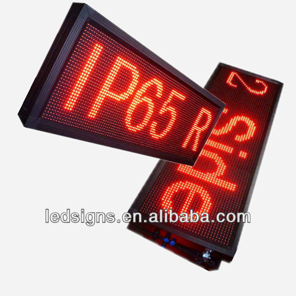 Hidly CE/UL/ROHS semi-outdoor led display