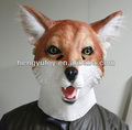 New product rubber halloween life size Christmas fox mask