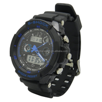 High Quality Fashion Sports Analog Quartz Digital Movement man Watch Stock