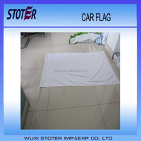 Flying Style and Printed Type China Made Printed Custom Promotion new Cheap 3x5 White Flag