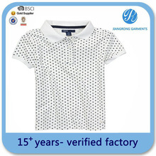 Delivery on time child polo printed design 2014 fashion children t-shirt polo
