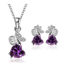 Free shipping! edding crystal jewelry set, costume african jewelry sets