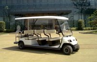 8+3 seaters electric sightseeing buggy