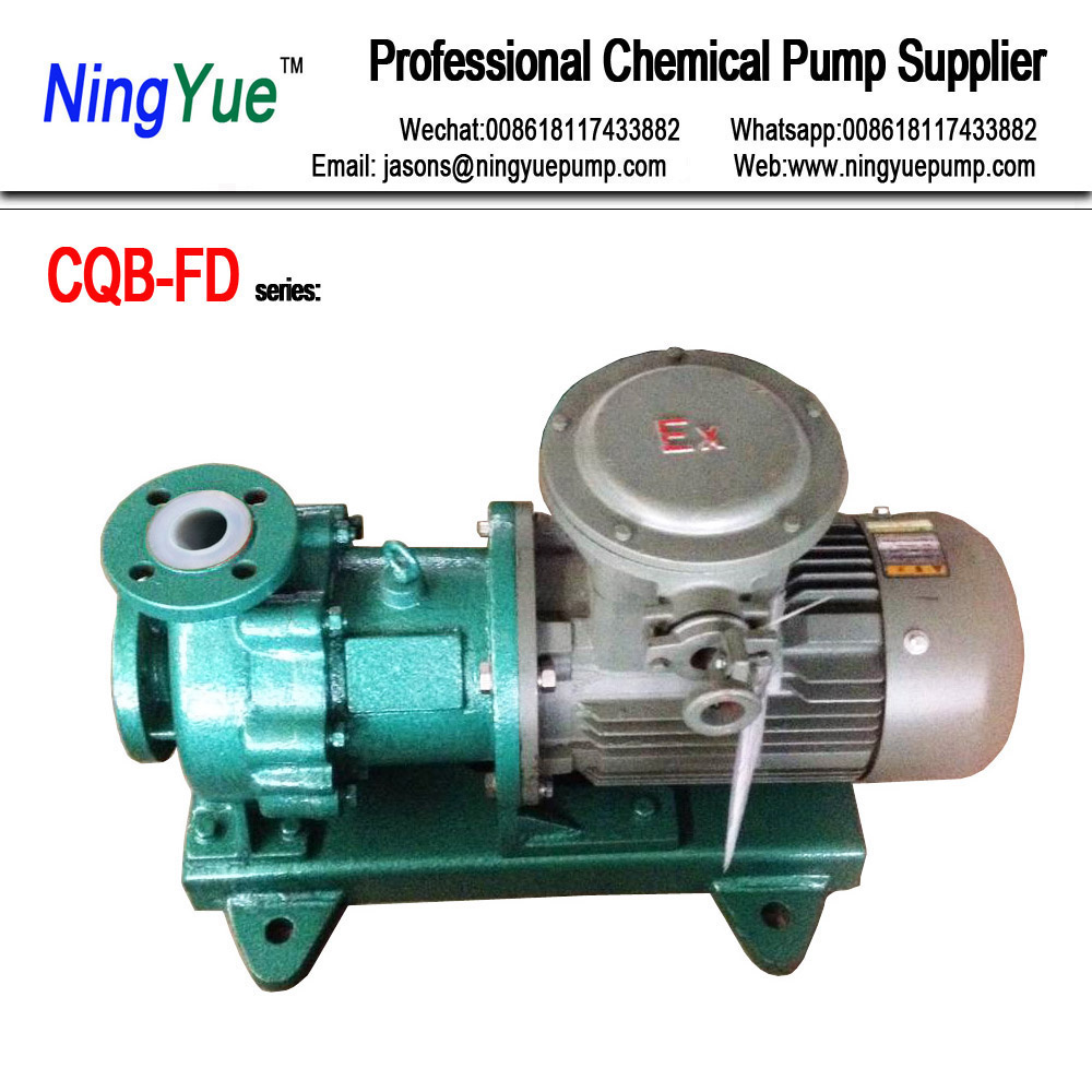 Good prices chemical application teflon lined magnetic drive pump