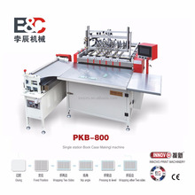 Semi-auto book cover making machine album case making machine hardcover making machine