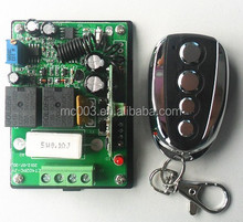 two road Wireless Intelligent motor receiver controller and transmitter