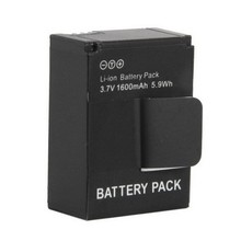 1600mAh AHDBT-301 Camera Battery Operated Security Camera Rechargeable Li-ion Battery for Gopro HD Hero 3 3+ Plus