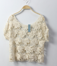 beautiful textile lace fabric &lace blouses for women