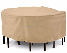 Waterproof Anti UV 100% Polyester 210D LARGE ROUND PATIO SET COVER