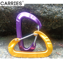 customized colorful Aluminum carabiners for climbing