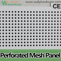 Ceiling Decorative Hot Dipped Galvanized Perforated Metal Mesh