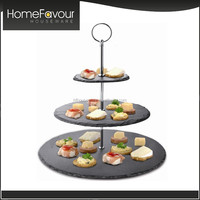 Top Factory Slate Cake And Cupcake Stand