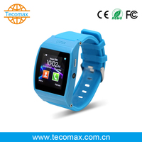 A Style Blue bluetooth watch TF 32 G Special Arc Touch Panel ROM 128MB Sync SMS/ calls/phone book/music wearable device