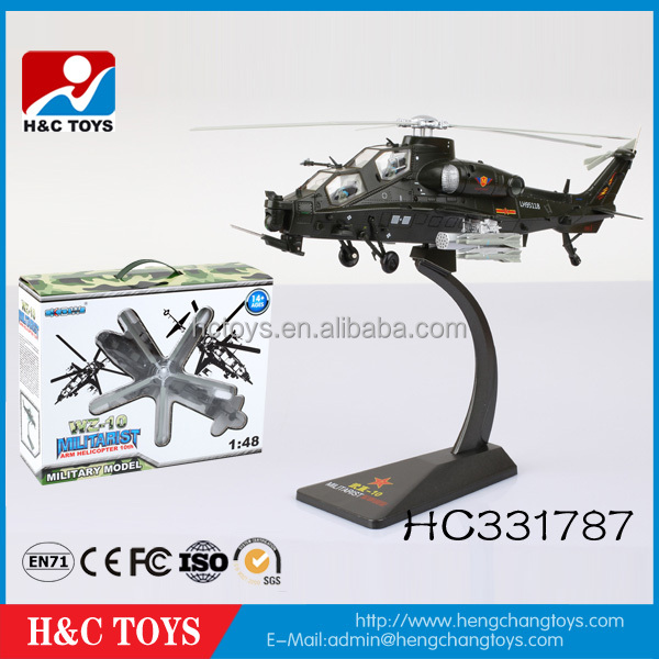 New design 1:48 military model rc helicopter remote control helicopter for sale HC331787