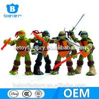 OEM ninja turtles figure, teenage mutant ninja turtles toys, custom made anime figure