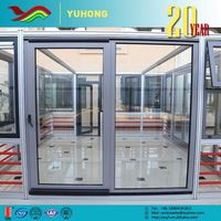 Aluminum waterproof and soundproof lead windows
