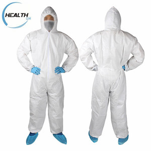 microporous/SMS disposable safety protective antistatic coverall workwear