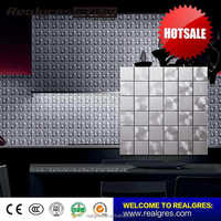 Practical special design stainless steel mix diamond mosaic tiles