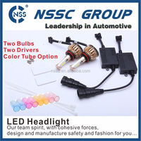 2016 New One Body Design 24w 2400lm 9006 Led Car Headlight COB Chip