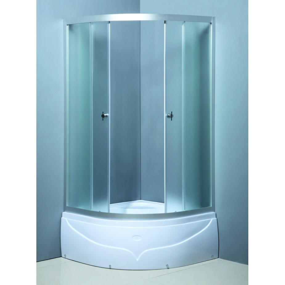Cheap Wholesale simple shower cabin,shower room,shower box bathroom bathroom glass wall shelf