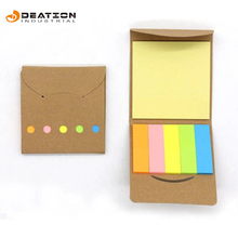 Custom Display Mini Post Sticky Note Bureau Kalender met Sticky Note Pad