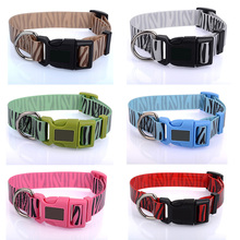 DIY Dog Collar with Plastic Release Buckle for Pet Training