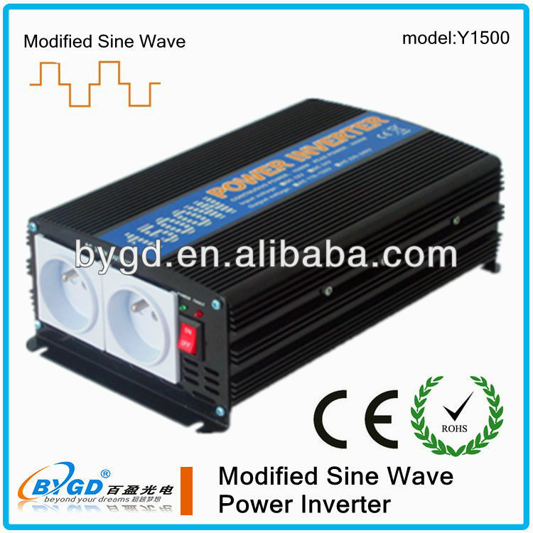 1500w dc to ac power inverter 12V-220V modified sine wave
