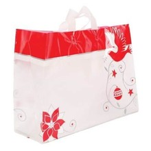 Eco-friendly Biodegradable OEM Plastic Shopping Big and Long Soft Loop Bag