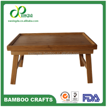 Portable Eco-friendly Foldable Bamboo Dinning Table Dinning Table Bamboo Table