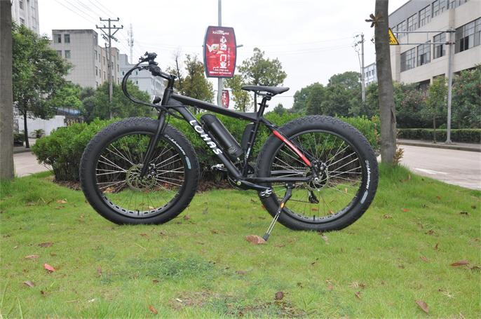 strong power fat tire electric drill bike