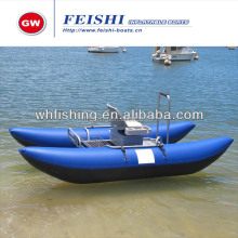 Hot sale Pontoon boat Inflatable Fishing boat made in China