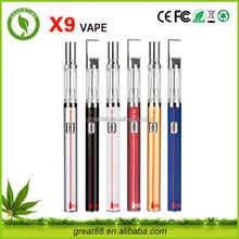 Greentime new products 2016 0.5ml ceramic coil cbd oil vaporizer disposable electronic cigarette stop smoking