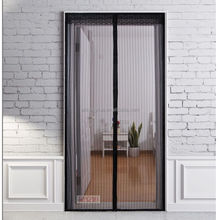 mosquito folding large size new style decorative magnetic window screen door