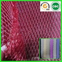3d air cool mesh fabric for motorcycle seat cover for sports shoes