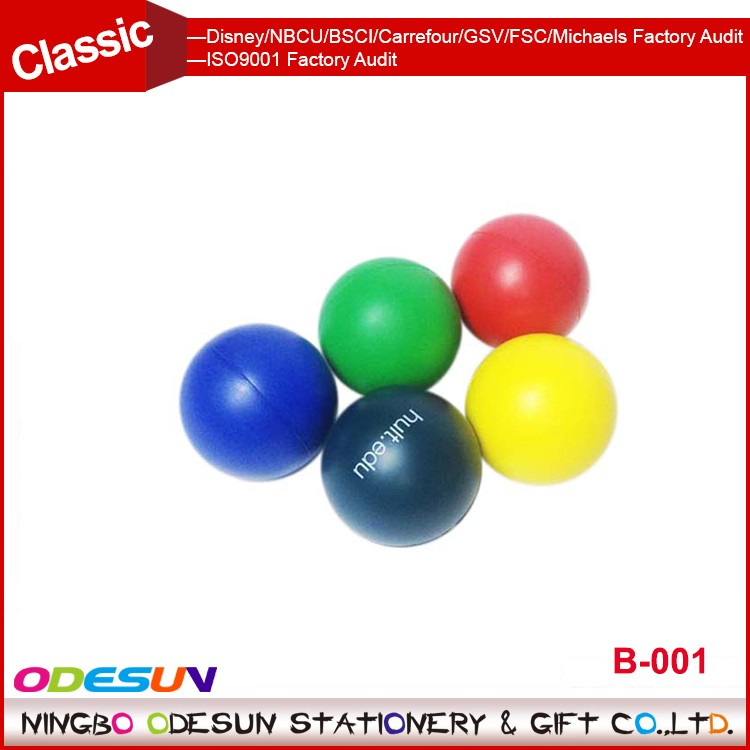 Michaels Sedex FSC Audit and ISO 9001 Factory Audit Manufacturer custom PU stress ball