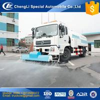 Quality Assurance 4x2 Street Washing Trucks 3ton to 25ton High pressure water road cleaning truck 6x4 25000L washer machine