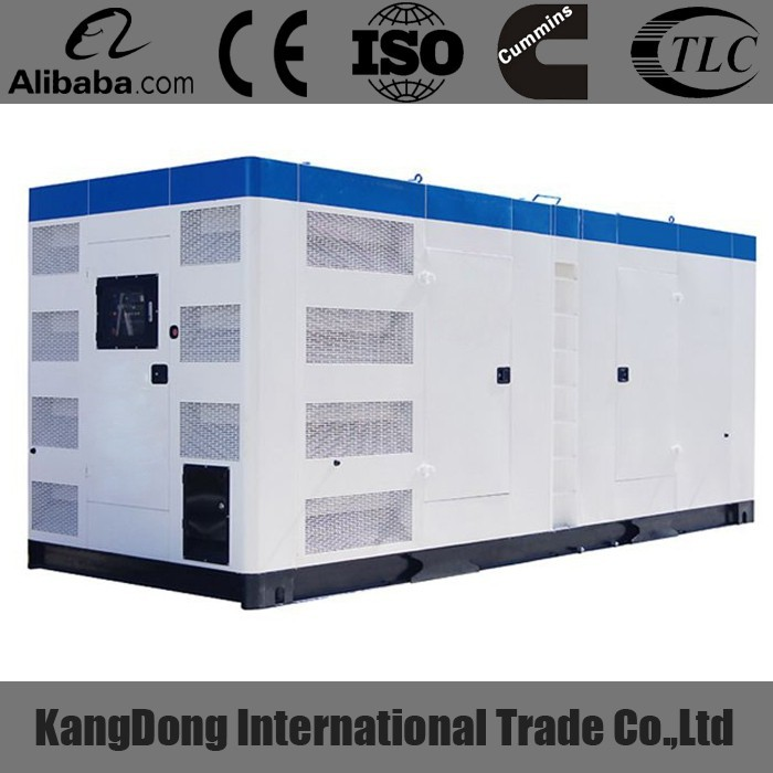 CE approved 800kva mtu engine soundproof generator set