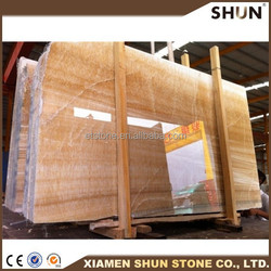 china factory yellow honey onyx marble