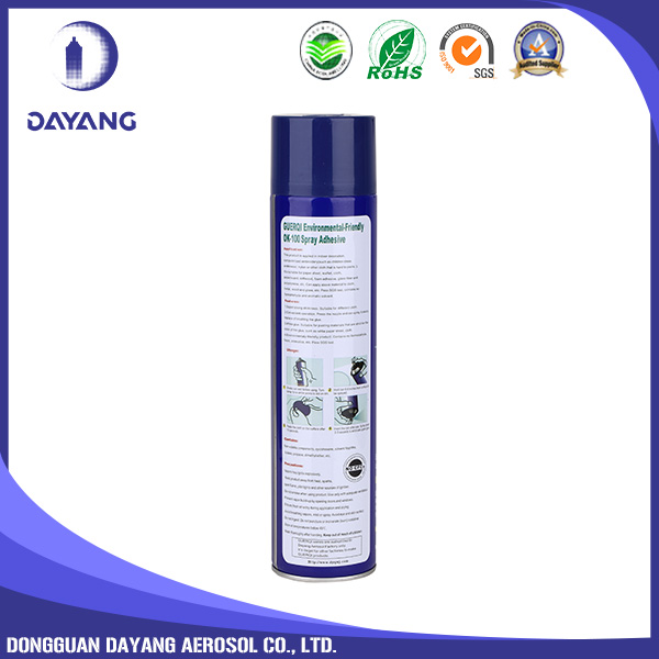 100% good quality super strong stickiness removable spray adhesive