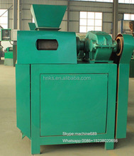 Newest Double roller fertilizer granule making machine/organic granulator 0086-15238020698