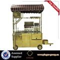 crepe machine electric mobile bike food cart designer