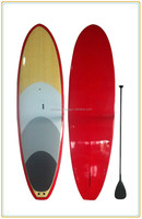 10'6'' bamboo face/carbon material epoxy s surfboard/sup paddle board