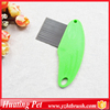 Travel use plastic pocket pet comb with stainless steel teeth