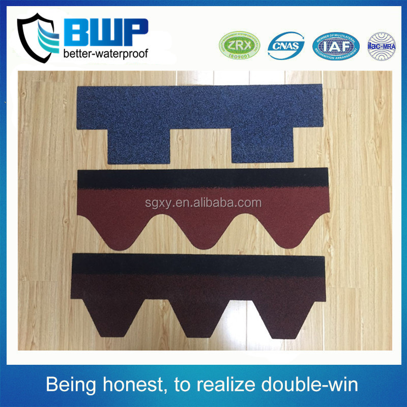 Roof waterproof Multi-color Fiberglass Asphalt Shingles/Standard type