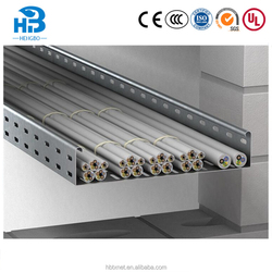 High strength gi galvanized steel cable trunking sizes